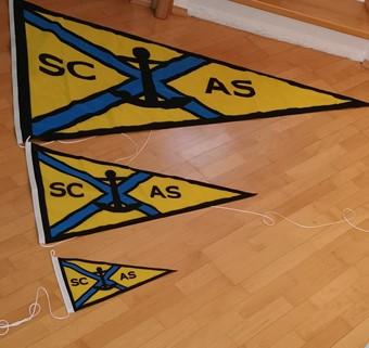 SCAS Flaggen sind da!